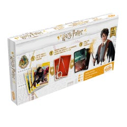 Harry Potter Shuffle Triple Card Game