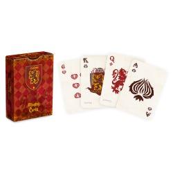 Harry Potter Gryffindor Playng Cards