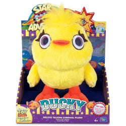 Toy Story 4 Signature Collection Ducky Deluxe Carnival Plush