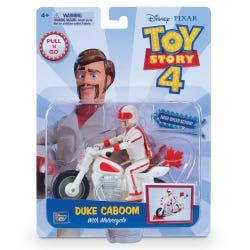 Toy Story 4 Pull 'N Go Duke Caboom with Bike