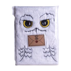 Harry Potter Hedwig A5 Plush Notebook