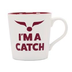 Harry Potter Quidditch Slogan Boxed Mug