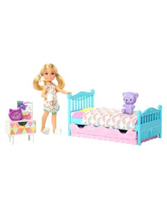 Barbie Club Chelsea Bedtime Doll and Playset