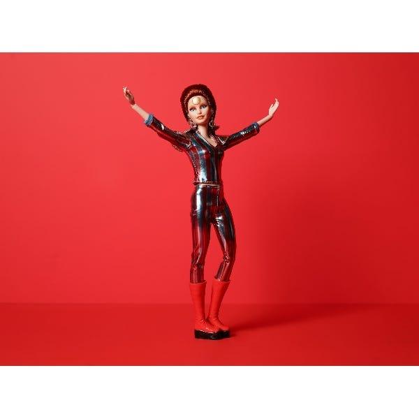 Barbie David Bowie Doll