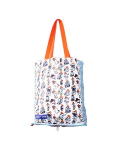 Paddington Bear Foldable Shopper Bag - Paddington Pattern