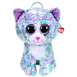TY Whimsy, the Cat Sequin Backpack
