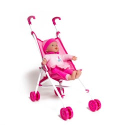 Baby Ellie Soft Baby Doll with Buggy