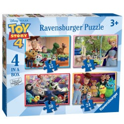 Ravensburger Disney Pixar Toy Story 4, 4 in a Box