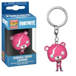 Fortnite Cuddle Team Leader POP Keychain