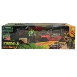 Hamleys Dino Valley Dinosaur Catch Vehicle Playset