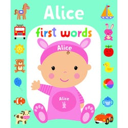 First Words Alice