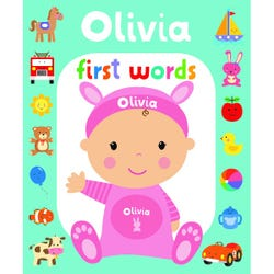 First Words Olivia