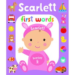 First Words Scarlett