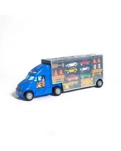 Hamleys Mega Truck Carry Case with Cars