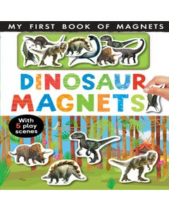 First Book Dinos Magnet Book