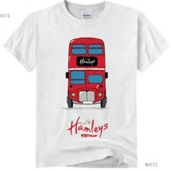 Hamleys T-Shirt Bus 5-6 White