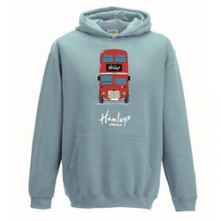 Hamleys Kids Hoodie Design 5-6 Light Blue