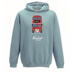 Hamleys Kids Hoodie Design 7-8 Light Blue