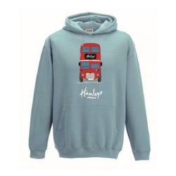 Hamleys Kids Hoodie Design 9-11 Light Blue