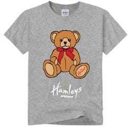 Hamleys T-Shirt Bear 7-8 Grey