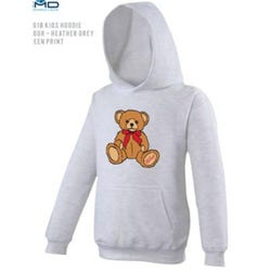 Hamleys Kids Hoodie Design 5-6 Sports Grey