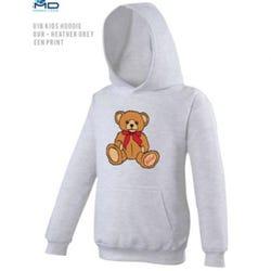 Hamleys Kids Hoodie Design 9-10 Sports Grey