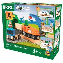 BRIO World: Starter Lift & Load Set