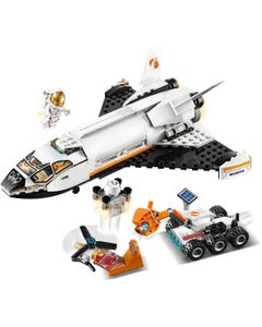 City Space Port Mars Research Shuttle