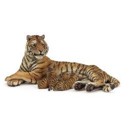 Papo Nursing Tigress Figure