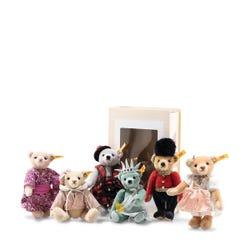 Steiff Great Escapes Edinburgh Teddy Bear in gift box (Grey)