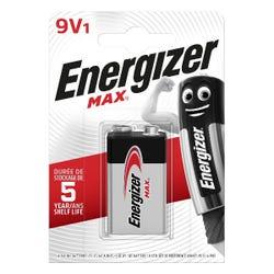 Energizer Max 9v 1 Pack