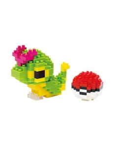 Nanoblock Caterpie & Poke Ball