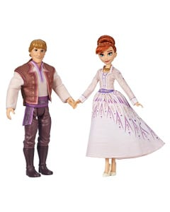 Disney Frozen Anna and Kristoff Fashion Dolls 2 pk