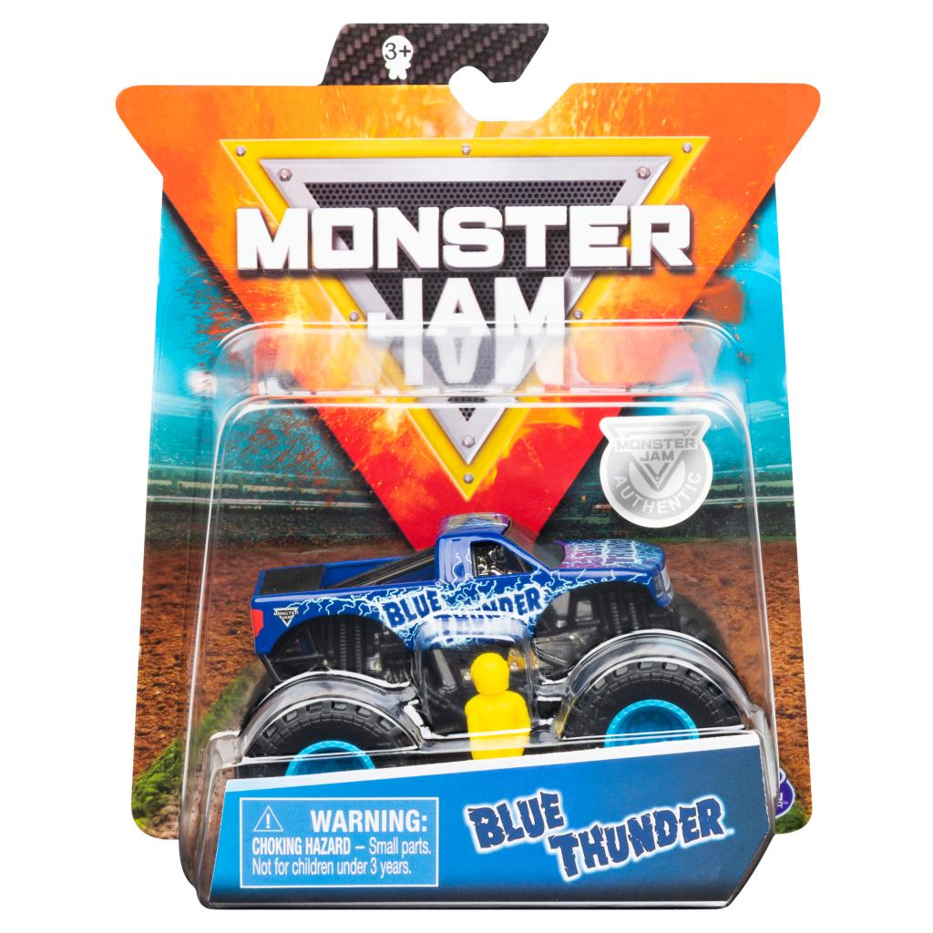 Monster Jam Truck Blue Thunder