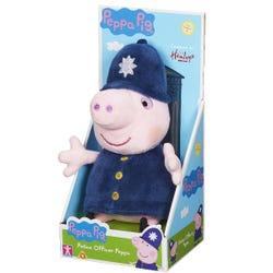 Police Peppa 8 Inch Plush