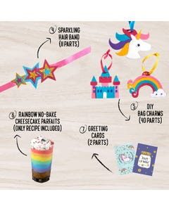 Jack In The Box All Things Magical 7-In-1 Craft Kit
