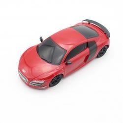 Ralleyz 1:24 27 MHz Audi GT Red