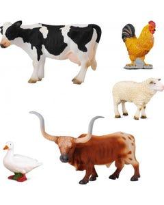 Farm Life Animals Box Set 5Pcs