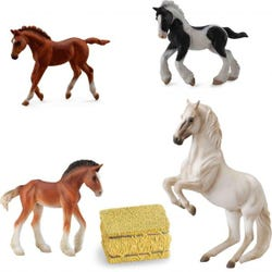 Hamleys Horse Box Set 5Pcs