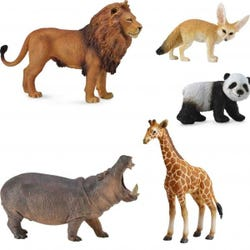 Hamleys Wild Life Animals Box Set 5Pcs