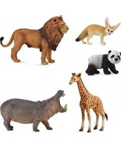 Hamleys Wild Life Animals Box Set 5Pcs