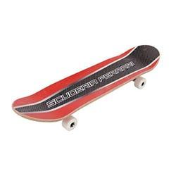 Ferrari DoubleKick Skateboard Red