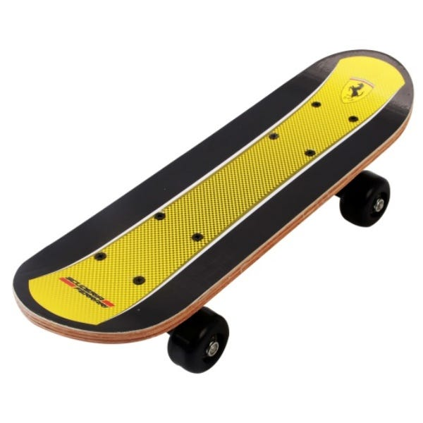 Ferrari Mini Skateboard   Yellow