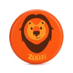 Zoozi Flying Disc Lion Frisbee Orange