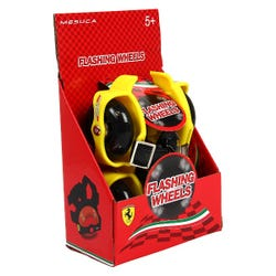 Ferrari Flashing Street Gliders Wheels (Yellow)
