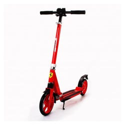 Ferrari 2 Wheel Scooter Red w suspension