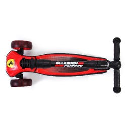 Ferrari Foldable Led Twist Scooter - Red
