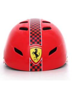 Ferrari Helmet With Adjustor Red L