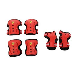 Ferrari Skate Protector Set Red S