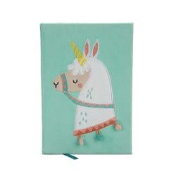 Sloth Llama - Llama Fluffy A5 Notebook